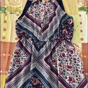 Girl's multicolor dress XHilaration size XS